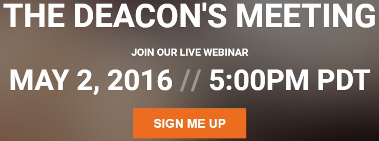 deacon' meeting sign up
